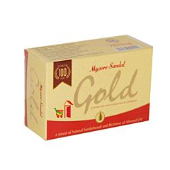 Mysore Sandal Gold Soap 125gm