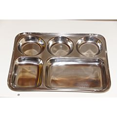 Thali Plate 5 Pits