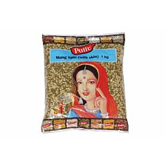 Mung dhal split with skin 1kg  / Mung Chilka
