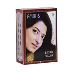 Amirs Brown Colour 10gms X 6 Pouches