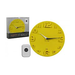 Alcyon Numberic Clock & wireless Doorbell Set