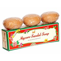 Mysore Sandal Soap Gift Pack 150gm X 3 Pcs