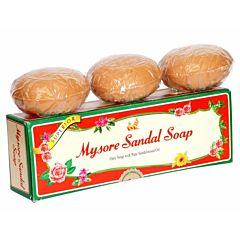 Mysore Sandal Soap Gift Pack 150gm X 3 Pcs